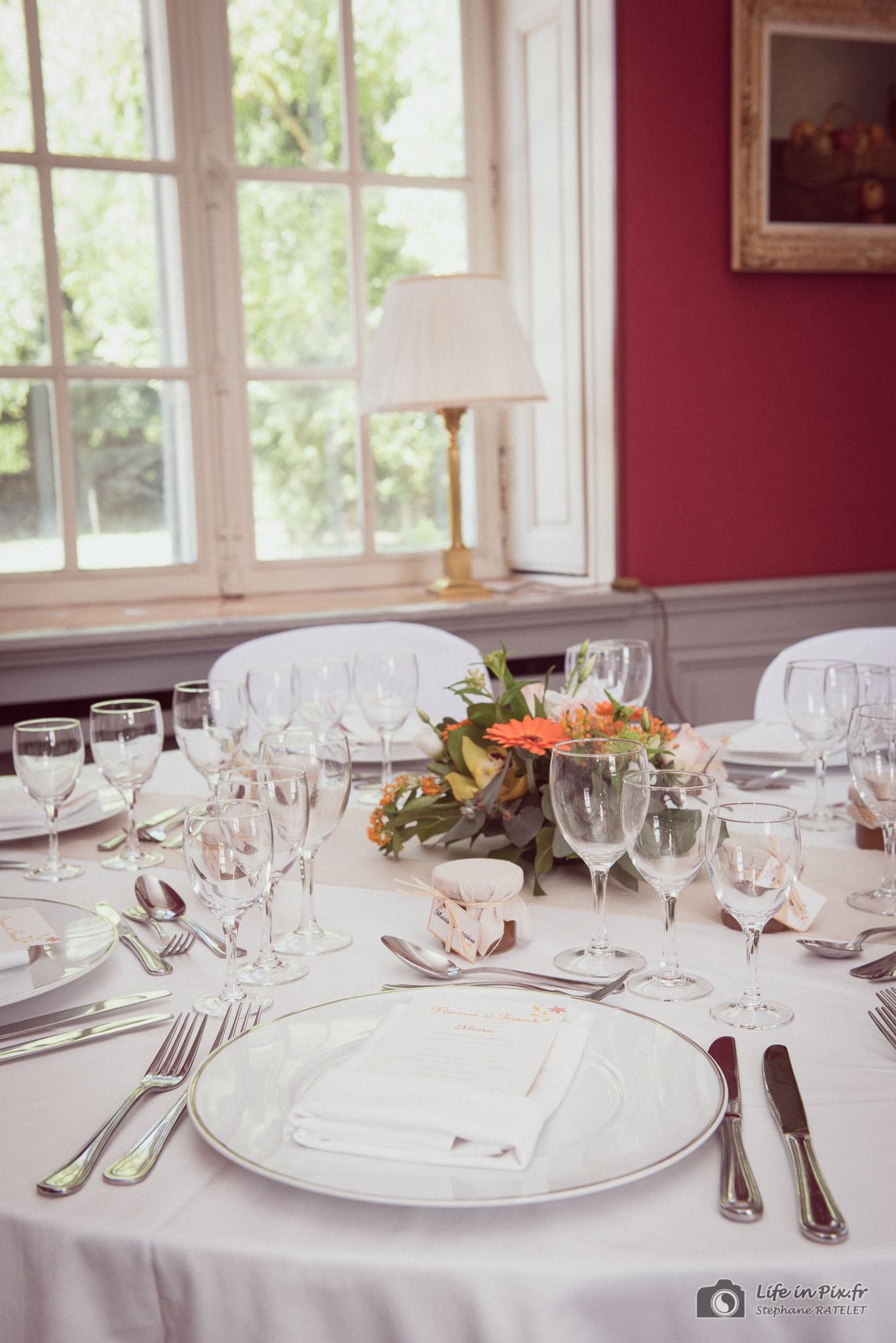 décoration de table - organisatrice de mariage compiègne chantilly oise