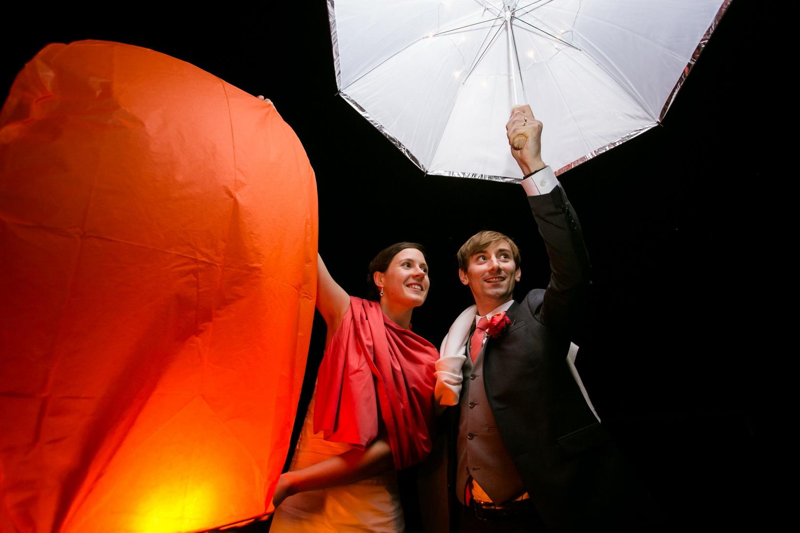 sky lanterns - mariage picardie - organisatrice de mariages