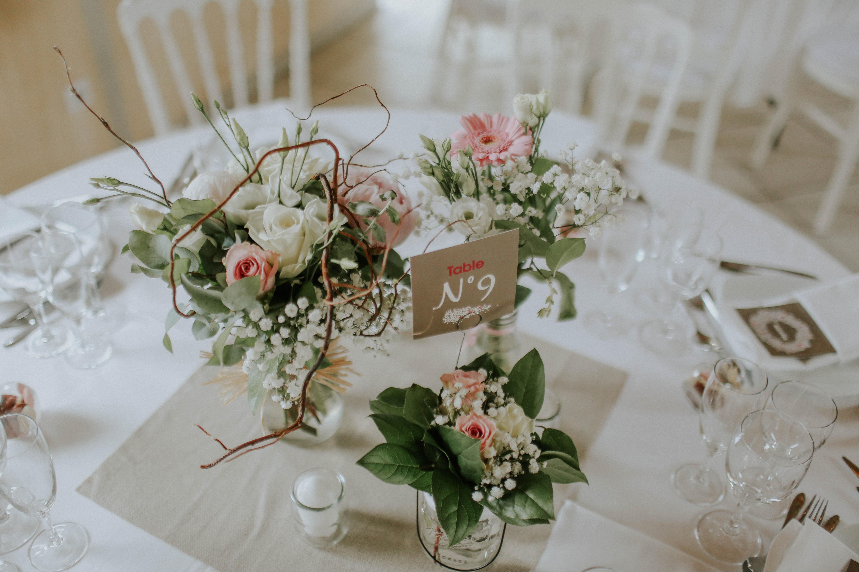 décoration de table - organisation de mariage compiègne oise picardie